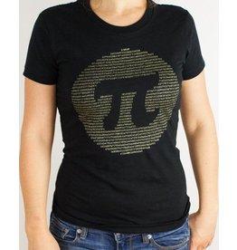 T-shirt Pi doré