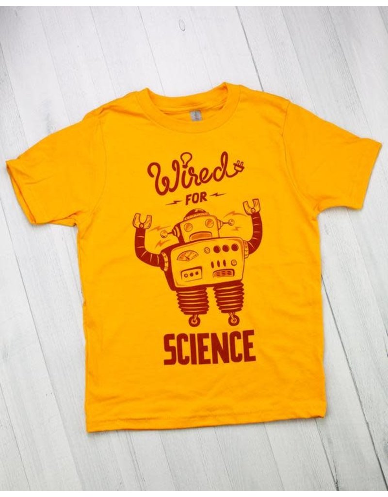 T-shirt pour jeunes Wired for Science