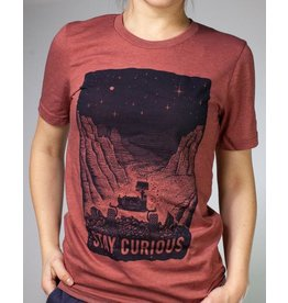 Tee-shirt Stay Curious