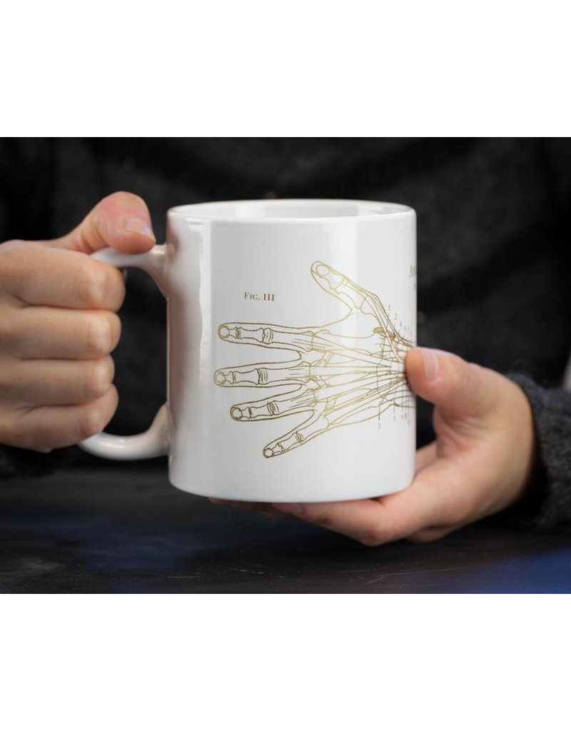 Méga tasse Main anatomique
