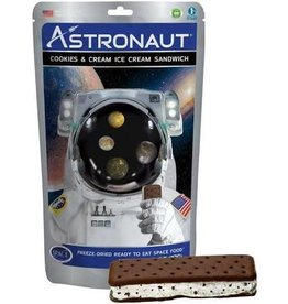 Crême glacée d'astronaute - Biscuits et crème