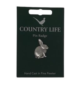 Pewter Rabbit Pin
