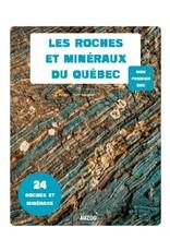Les roches et les minéraux du Québec