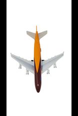 Avion à réaction de 8 po en métal moulé Sceno Jet