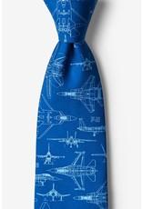 Cravate aux avions à réaction