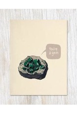 "Carte de voeux ""You're a Gem"""