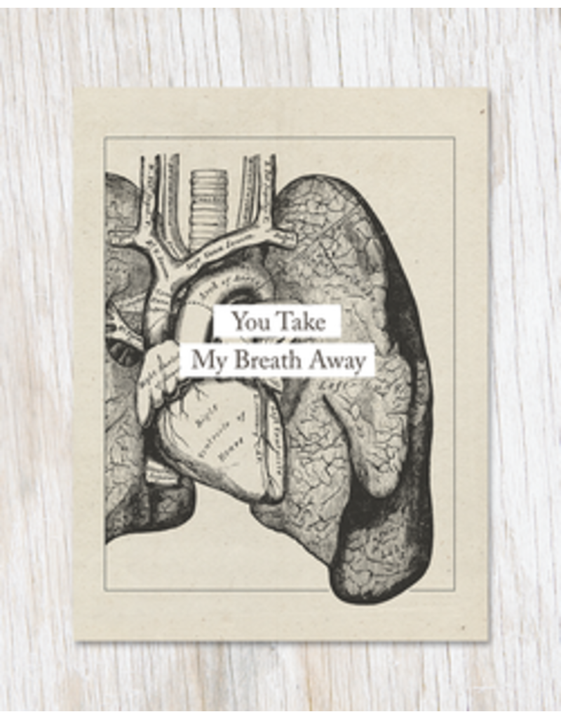 You Take My Breath Away: Anatomy Card