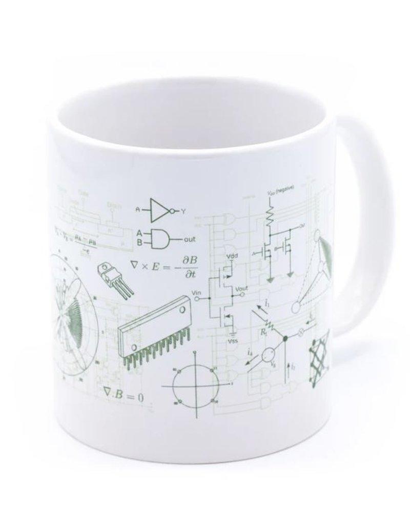 Méga tasse Ingénierie électronique