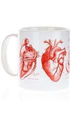 Méga tasse Coeur anatomique
