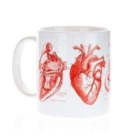 Mega Mug Anatomical Heart
