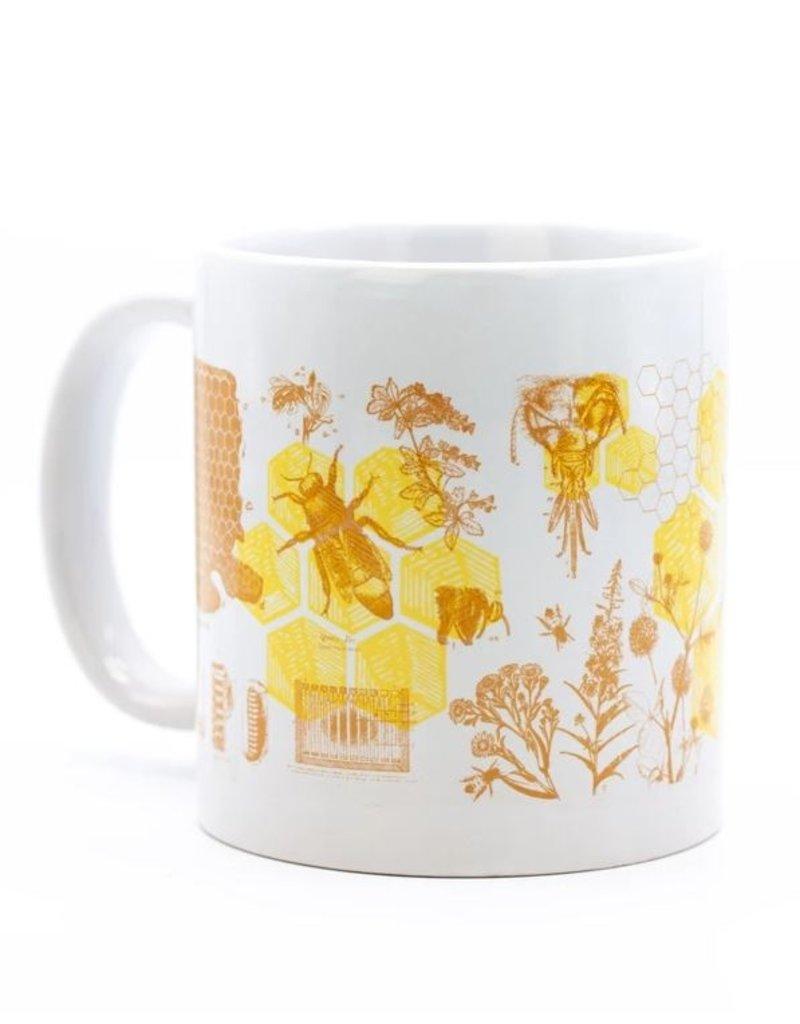 Mega Mug Honey Bees