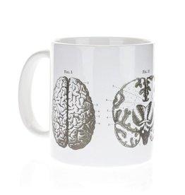 Méga tasse anatomie du cerveau