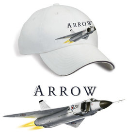 Core collection Casquette avec logo du Arrow d'Avro CF-105