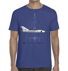 T-Shirt Avro Arrow - Blue