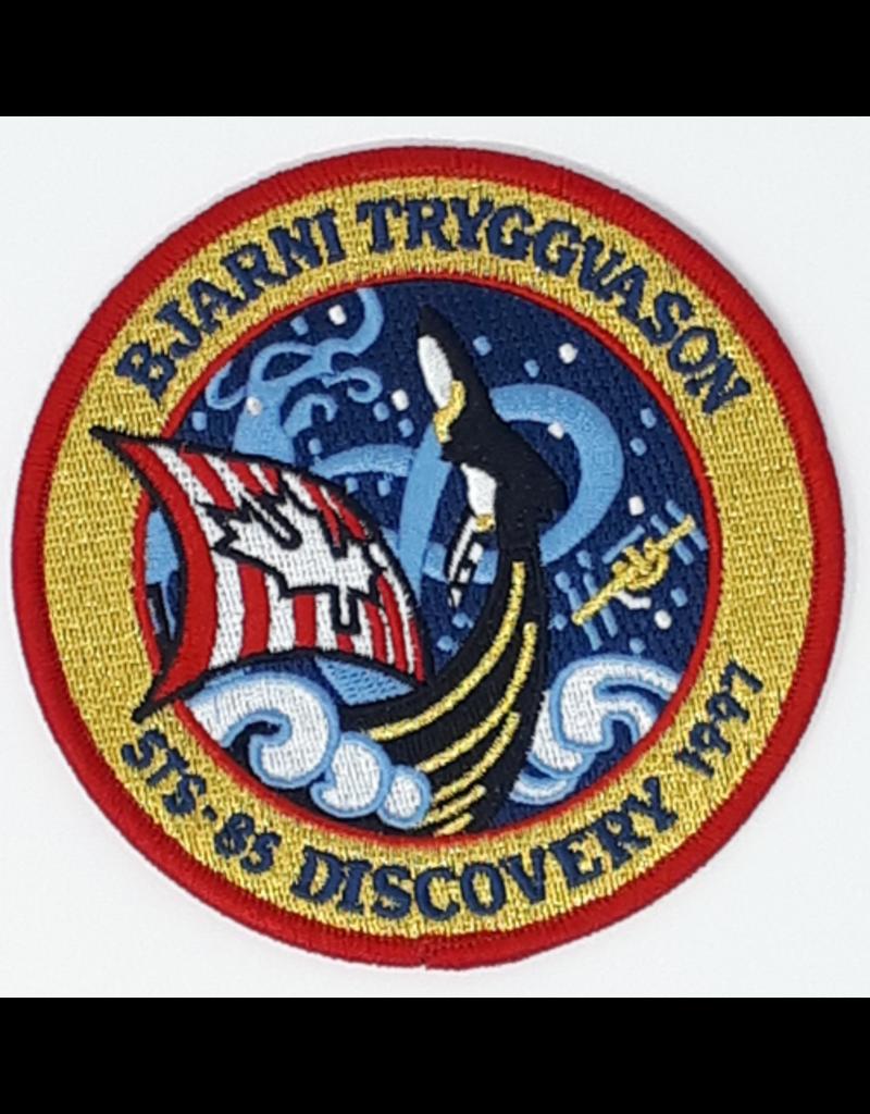 Écusson brodé STS-85 Bjarni Tryggvason