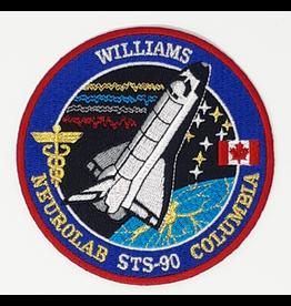 Écusson brodé STS-90 Dave Williams