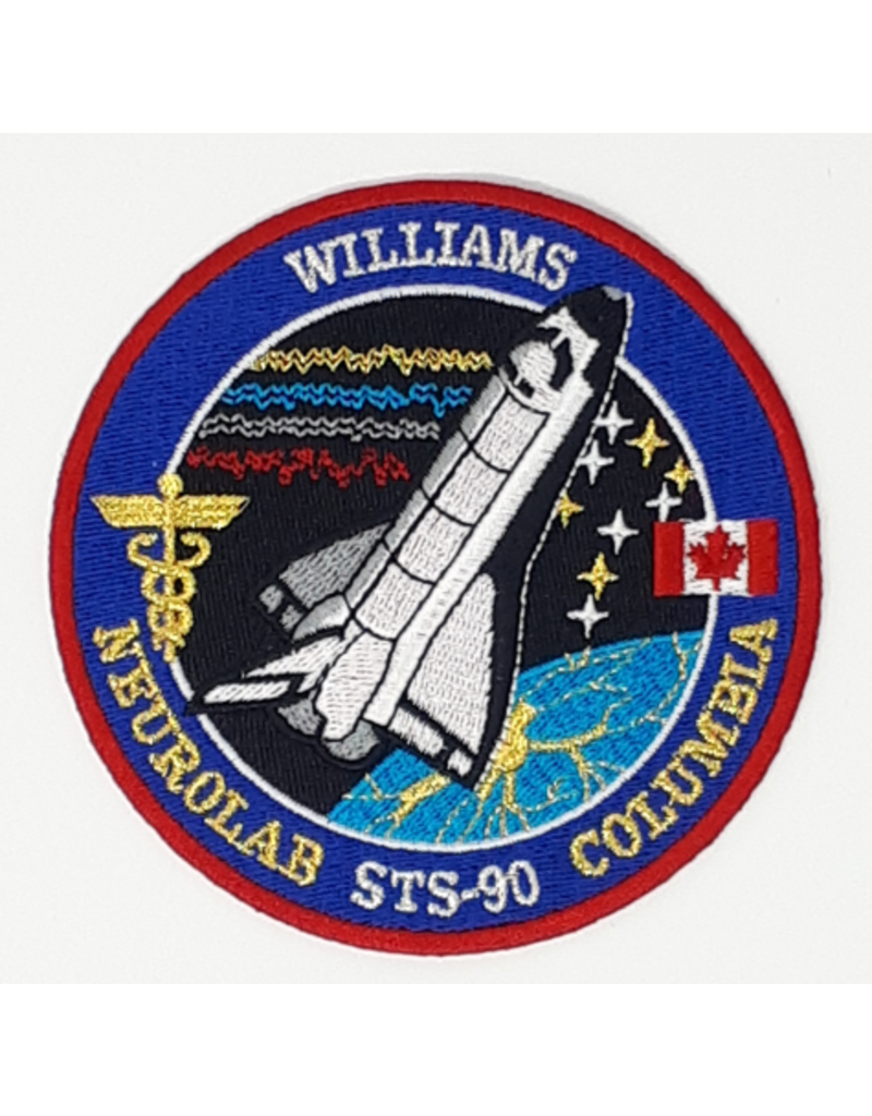 Écusson brodé STS-90 Dave Williams