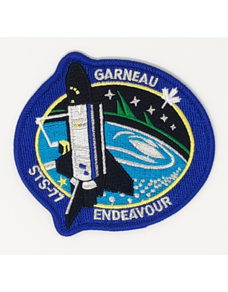 Crest STS-77 Marc Garneau
