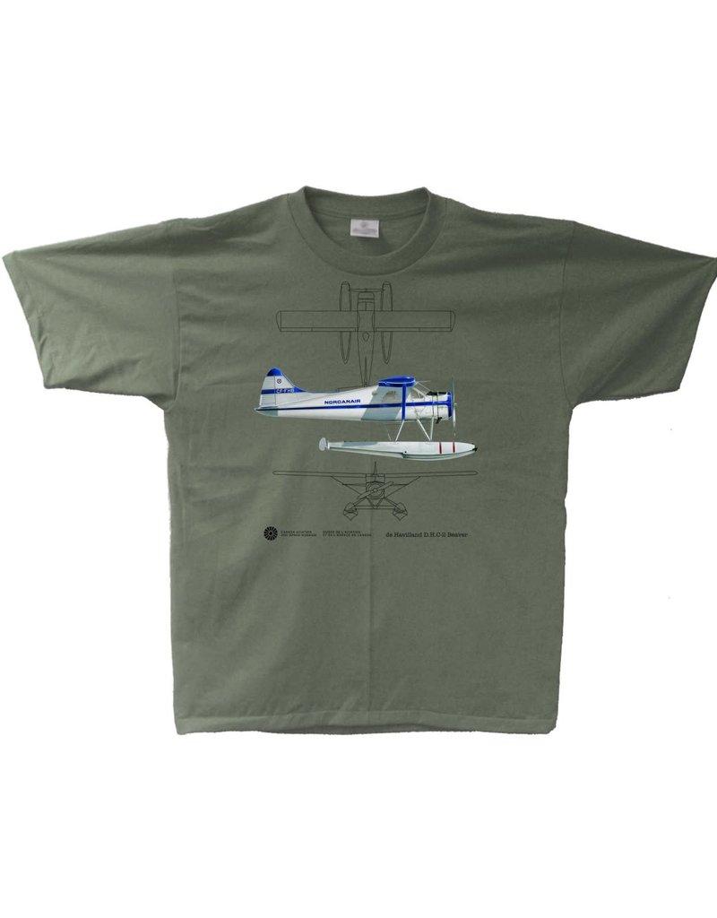 T-Shirt de Havilland D.H.C-2 Beaver