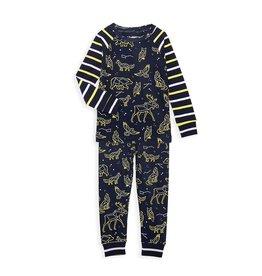 Wild Constellations Organic Cotton Pajamas