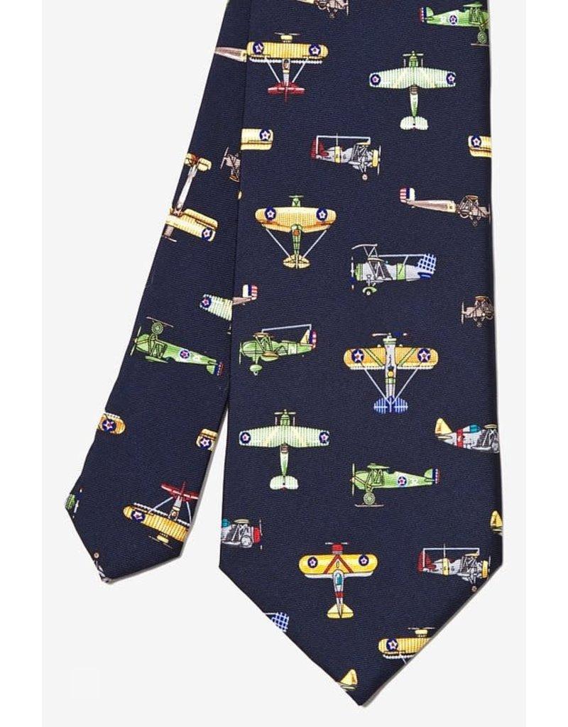 Cravate aux avions américains d'époque