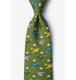 Cravate aux avions de guerre