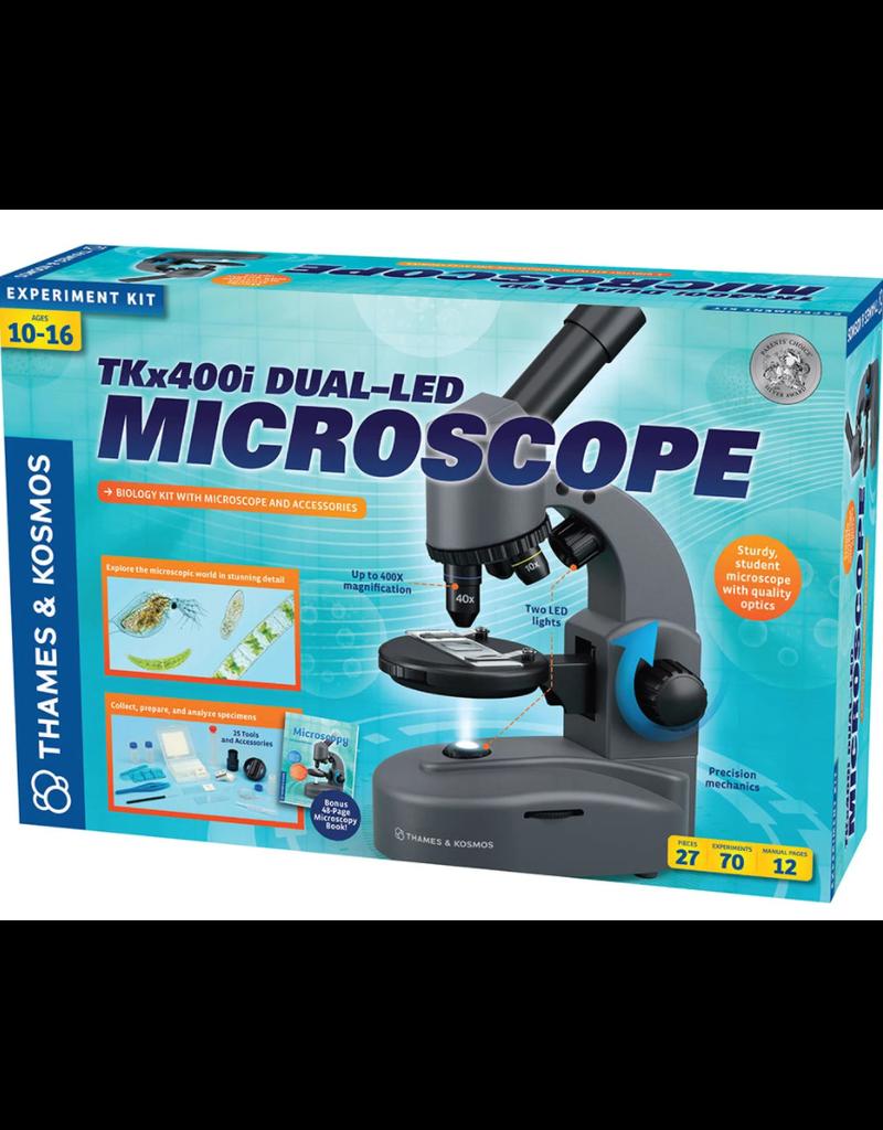 Microscope à double DEL TKX400i