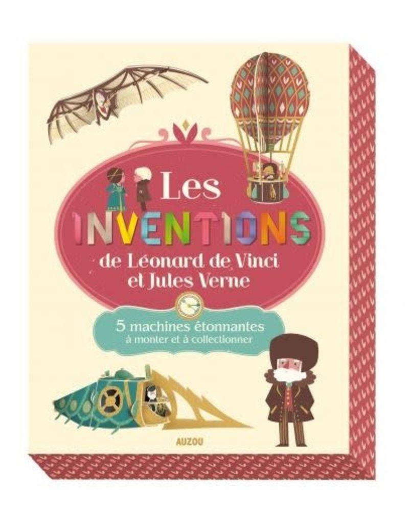 Les invention de Leonardo De Vinci et de Jules Verne