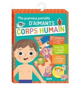 Ma première pochette d'aimants - Corps humain