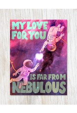 Nebulous Love Greeting Card