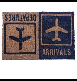Paillasson arrivals/departures