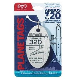 Sully Airbus A320 - Tail # N627AW - Grey Planetag