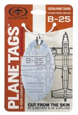 B-25 WWII BOMBER - Serial# 44-30090 Planetag