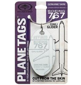 Air Canada Boeing 767 - GIMLI GLIDER Tail# 604 Planetag