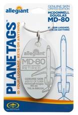 Médaille MCDonnell Douglas MD-80 de Allegiant - numéro d'aéronef N892GA