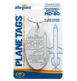 Allegiant McDonnell Douglas MD80 - Tail # N892GA  Planetag