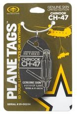 Médaille CH-47 Chinook - numéro d'aéronef 91-00234