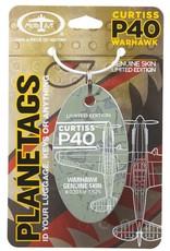 Médaille Curtiss P-40 Warhawk