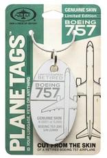 Médaille Boeing 757 de Delta - numéro de série 22809