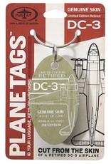 Douglas DC-3 - Serial # 43-15957 Planetag