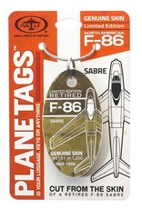 F-86 Sabre LIMITED EDITION  1949-1956 Planetag