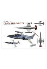 Stickers Starfighter  CF 104