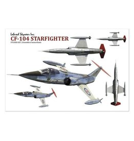 Stickers Starfighter  CF 104