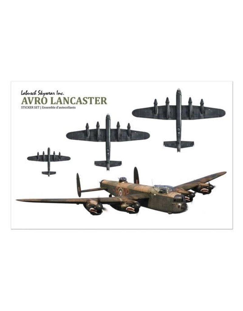 Autocollants Lancaster