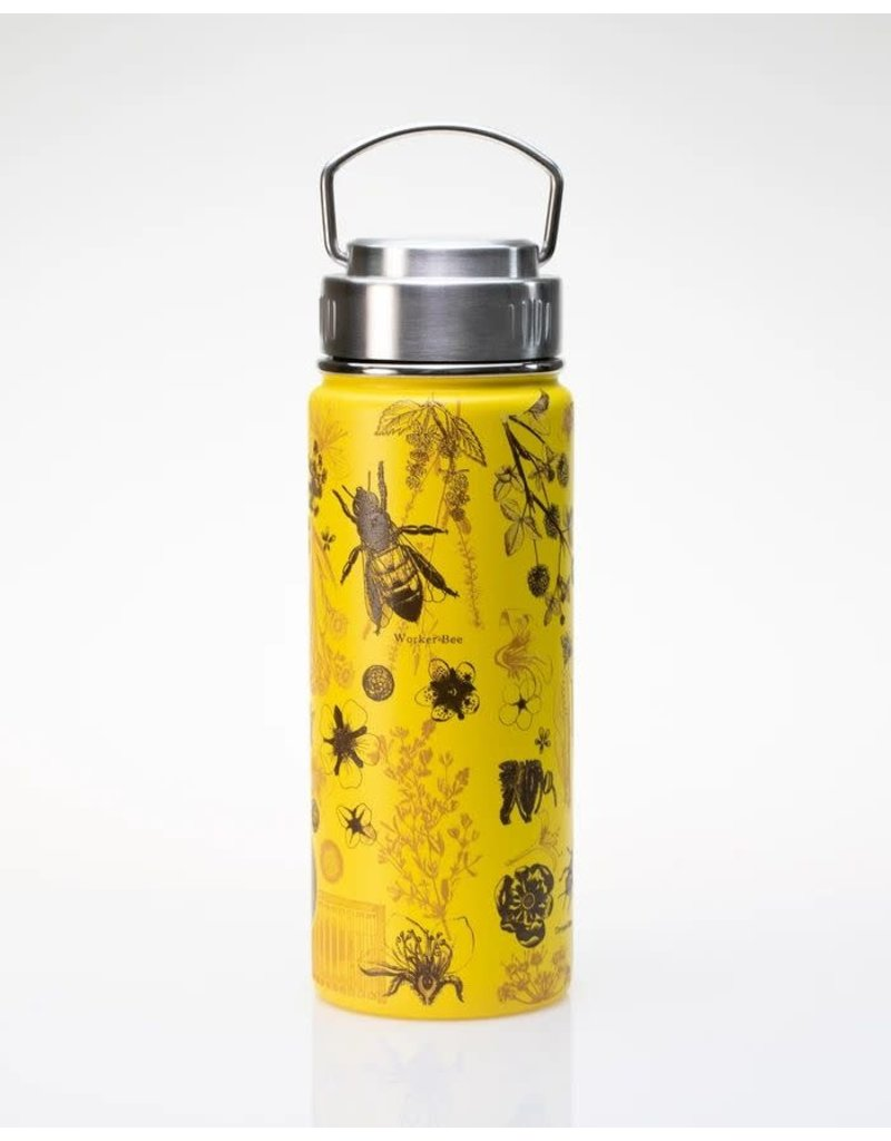 Honey Bee Stainless Steel Vacuum Flask