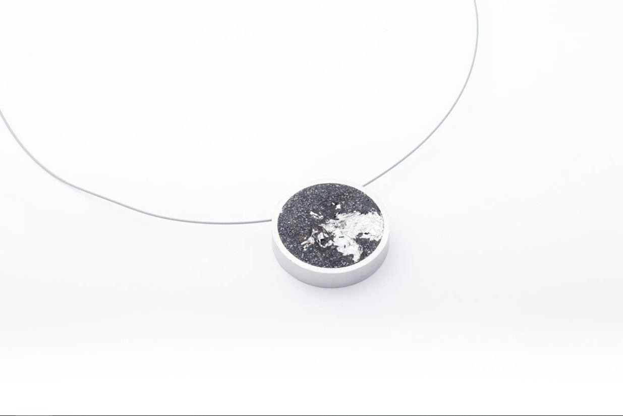 Concrete Aluminum Necklace