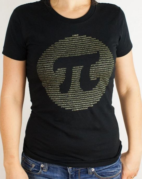 Golden Pi Tee Shirt
