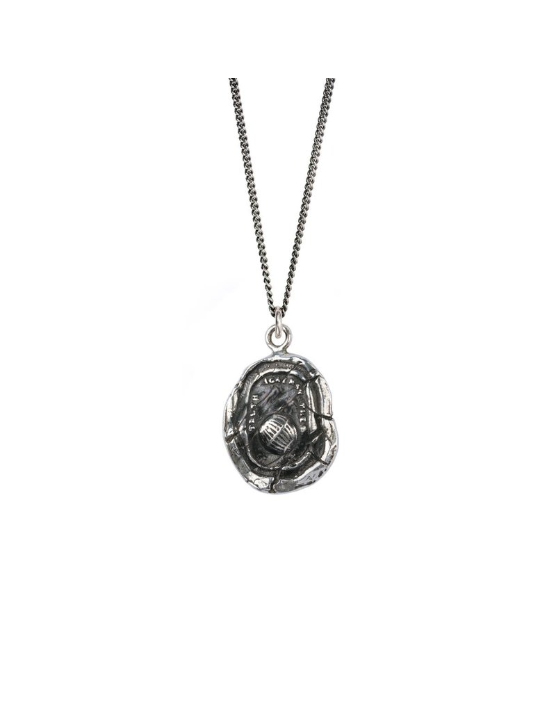 Empowered sterling silver necklace