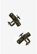 Flying Planes Brown Cufflinks