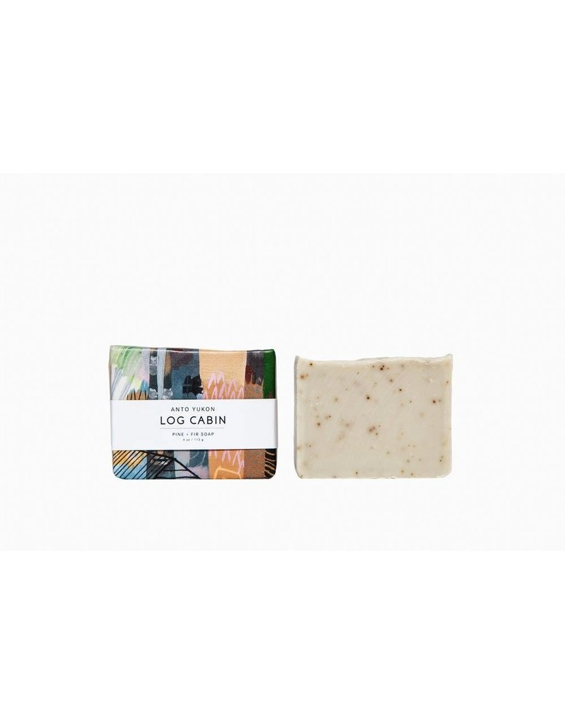 Log Cabin Soap